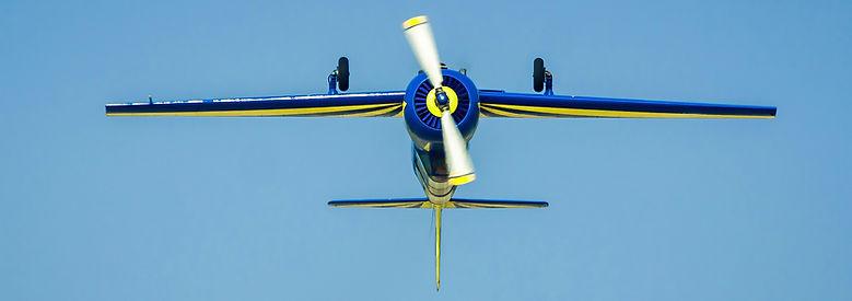 Обратный пилотаж ЯК 52