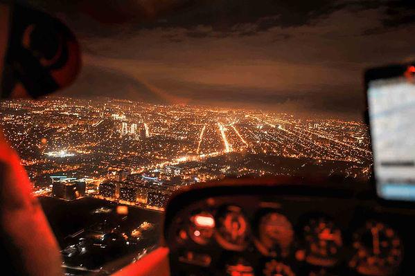 полет над краснодаром ночью