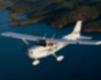 Полет на самолете Cessna-172 к морю, полеты на самолетах в Краснодаре, полет в подарок, подарки - впечатления