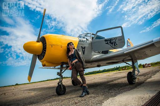 Фотосессии с авиатехникой
