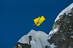 Wingsuit прыжок с парашютом