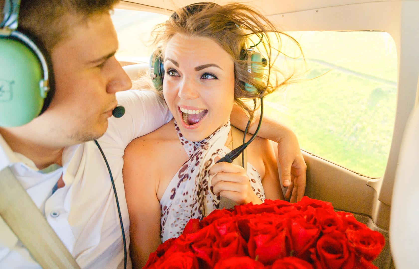 Организация необычных помолвок и предложений