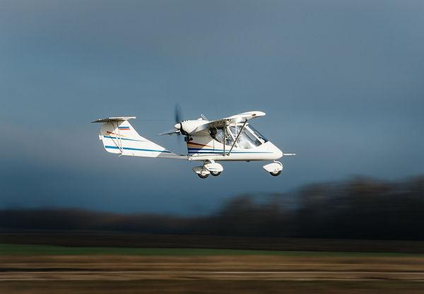 Полет на самолете Бекас