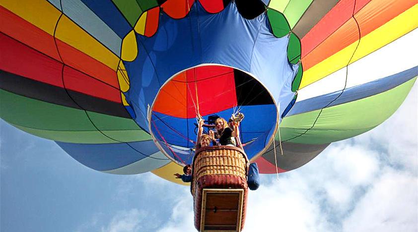 Полет на шаре в Краснодарском крае