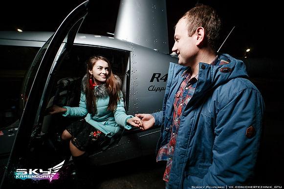Вертолет для двоих, полеты в краснодаре