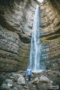 Водопад Чегемский