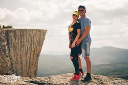 Качи-Кальон, скалы Крыма, прыжки