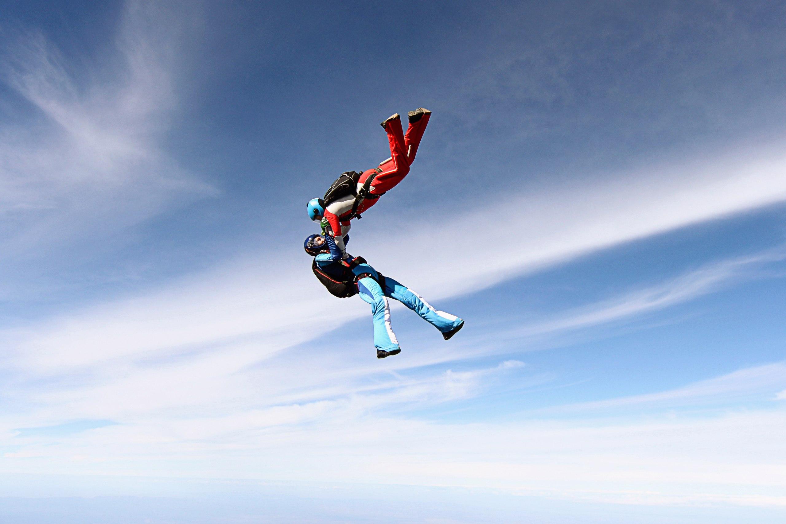 Прыжок с парашютом Энем, Южное Небо