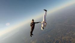 Прыжки с парашютом с 4 км, фрифлай
