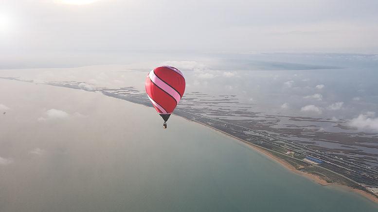 перелет через керченский пролив на воздушном шаре