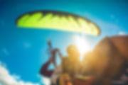 Полеты Анапа. На параплане над морем. Полет на параплане в тандеме с инструктором Сергей Крицкий в Анапе. Фото Василий Колганов для Ex3m.club