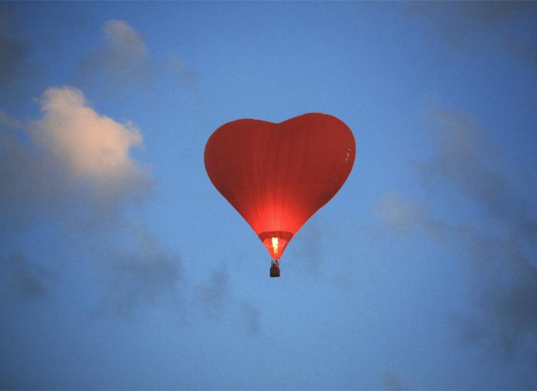Подарок - впечатление полет на шаре