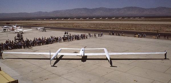 Rutan Voyager Airplane