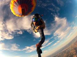 Прыжки с парашютом с воздушного шара