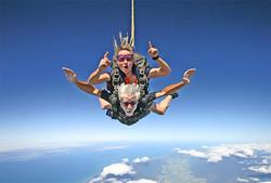 Skydive south sky