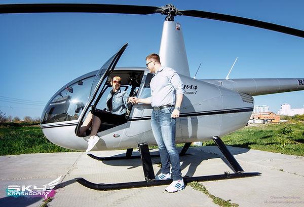 Полет на вертолете в Краснодарском крае и Крыму