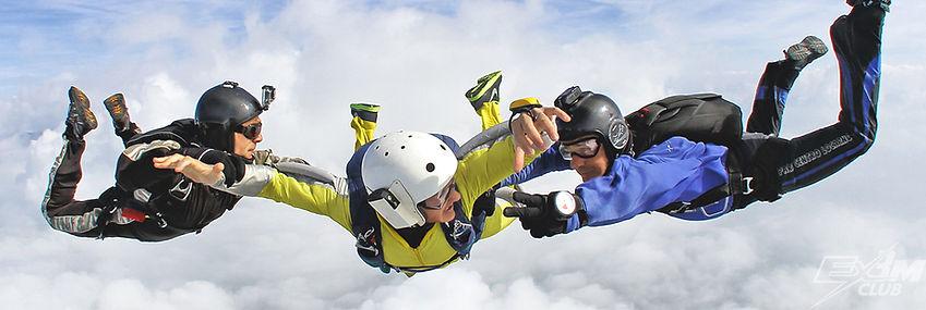 2 инструктора, AFF, обучение парашютному спорту, парашютный спорт, подготовка парашютиста, прыжок с парашютом с инструктором, программа АФФ, программа AFF, тренировочные прыжки с парашютом