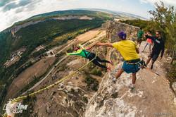 Роупджампинг Крым прыжки с веревкой