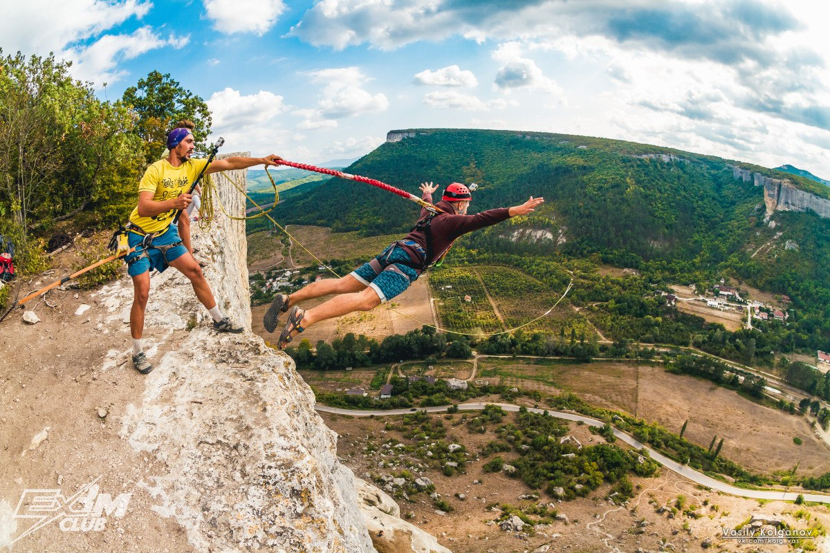 Прыжки с веревкой Крым