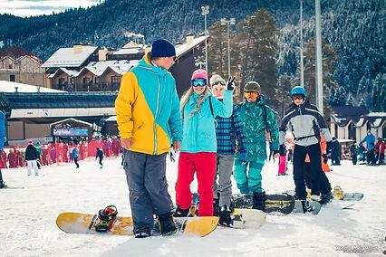 Обучение сноуборд Новый Год