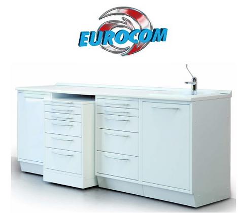 SET MOBILI EUROCOM - 3 MOBILI + LAVELLO + SERVOMOBILE