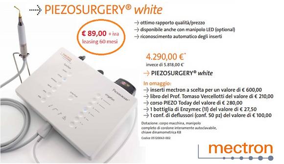 PIEZOSURGERY WHITE - MECTRON
