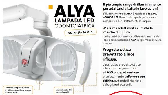 ALYA - LAMPADA LED