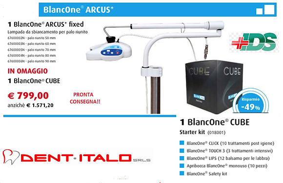 BLANCONE ARCUS+ - BLANCONE CUBE OMAGGIO