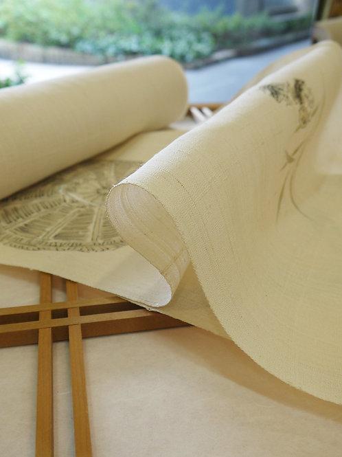昭和40年代に生紬と命名し生み出した「弓削徳明氏の生紬」の追憶