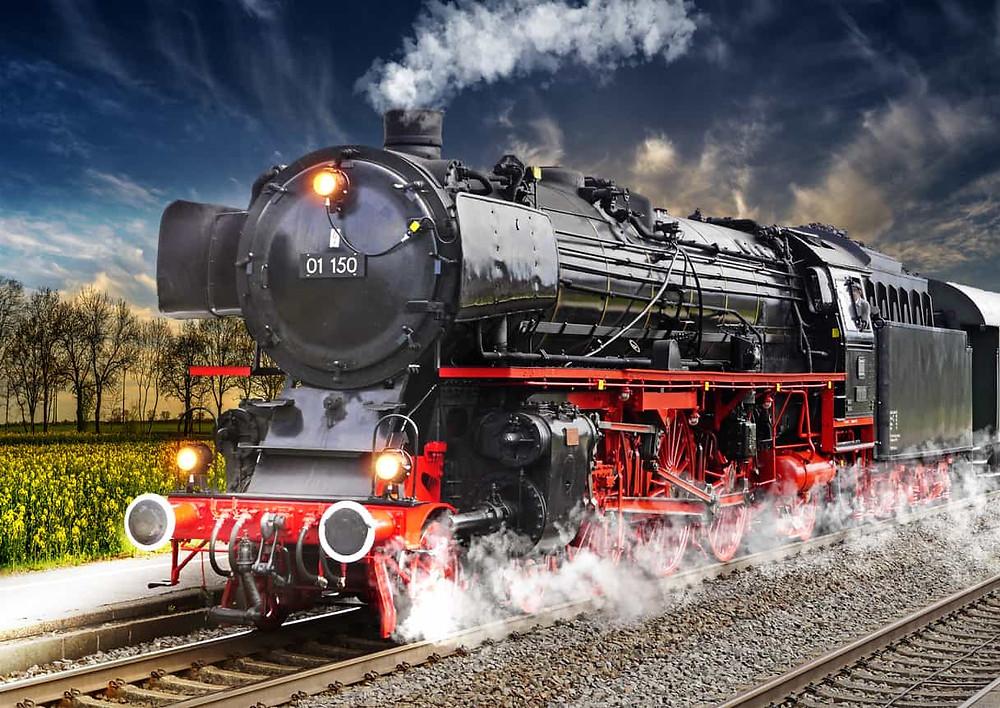 蒸気 機関 車 発明