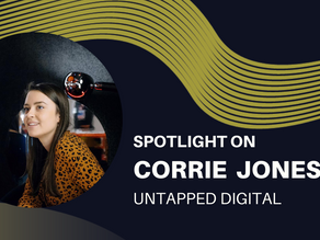 Spotlight on - Corrie Jones