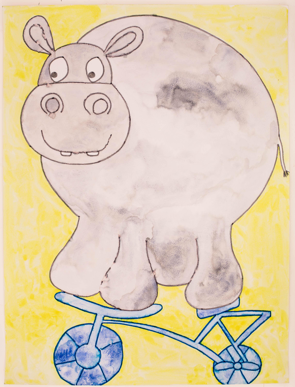 BikingHippopotamus