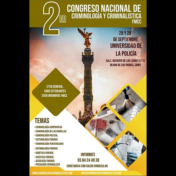 2do Congreso Nacional de Criminología y Criminalística