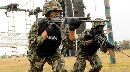 """Los """"Rambos"""" mexicanos: La elite de la Marina"""