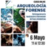 Aequeología forense. Participación en la localización e intervención de fosas clandestinas