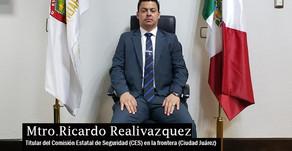 Criminólogo toma mando de la Dirección Gral. de la Comisión Estatal de Seguridad Pública en Juárez