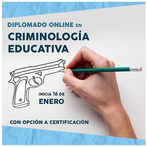 Diplomado | Criminología educativa