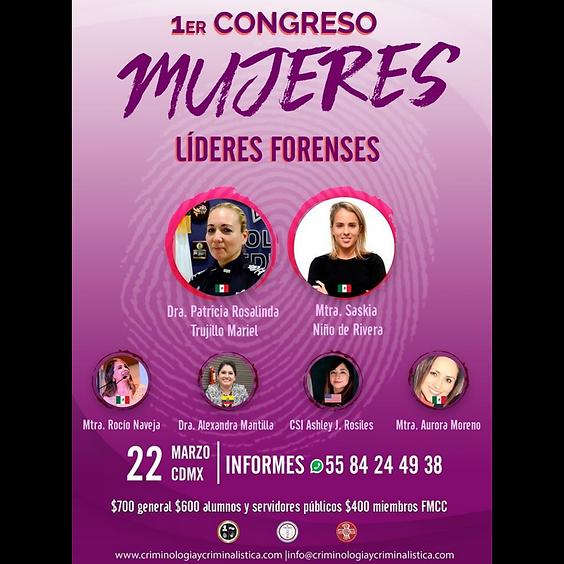 1er Congreso Mujeres Líderes Forenses
