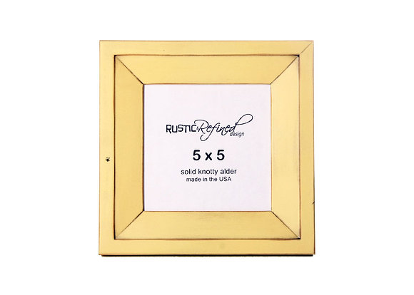 5x5 Haven picture frame - Daffodil