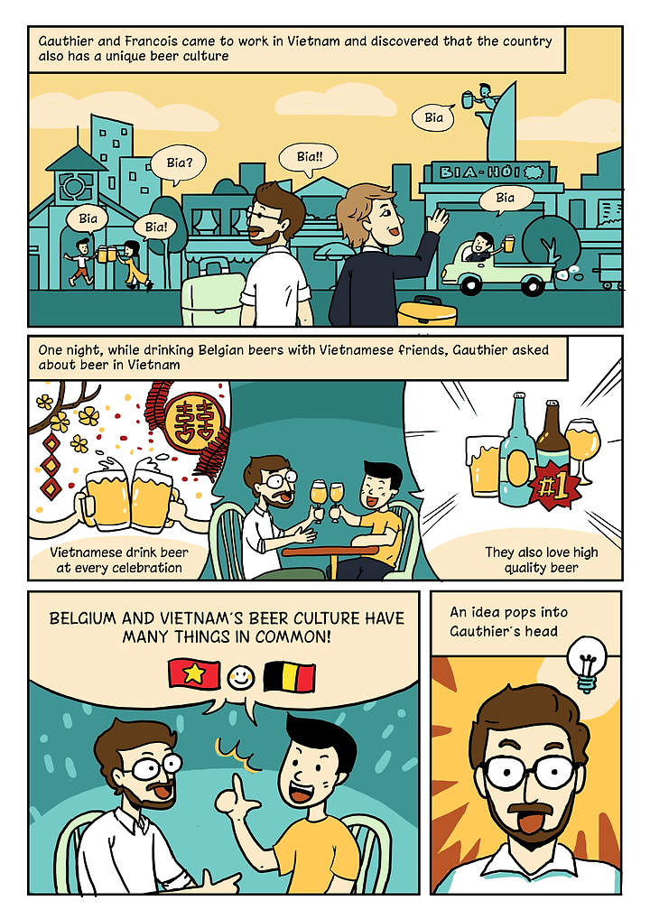 The story of brewing Belgian Craft Beer in Saigon - Vietnam