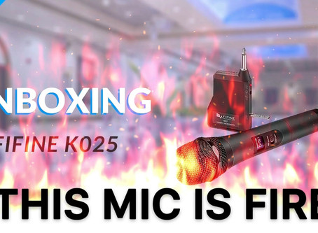 Fifine K025 Wireless Microphone - Unboxing & Product Review
