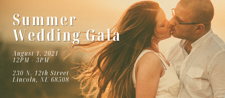2021 Summer Wedding Gala in Downtown Lincoln
