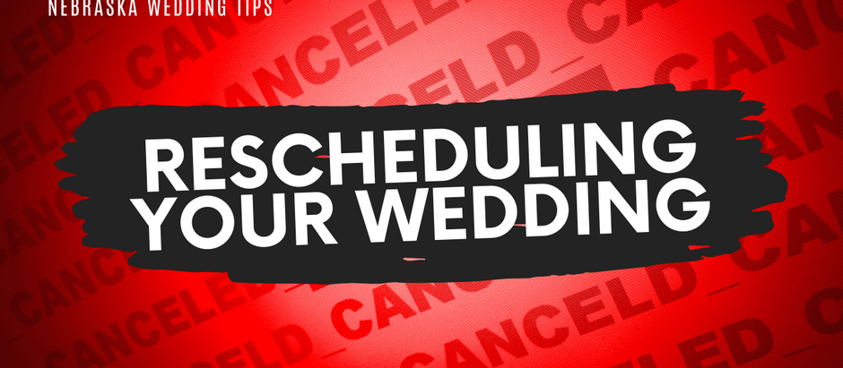 How to Reschedule a Wedding during the COVID-19 Pandemic