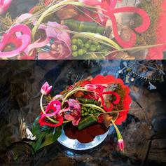 Demi coeur Tulipe par Fleuriste Avant-Garde