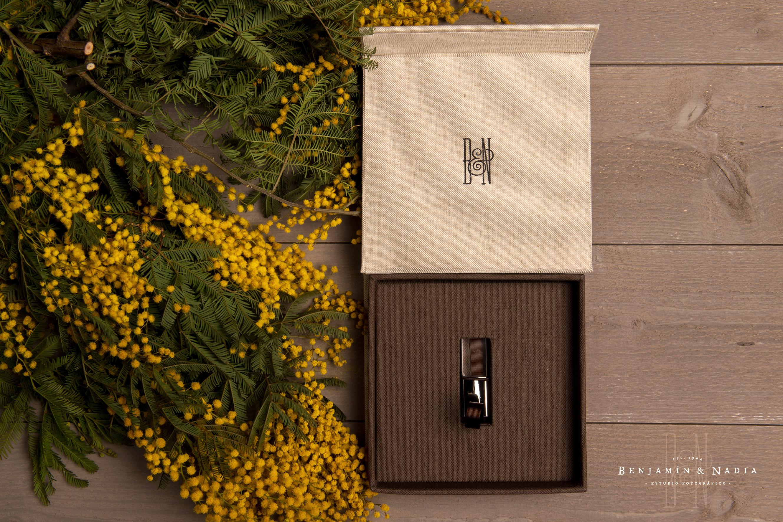 Caja pen drive