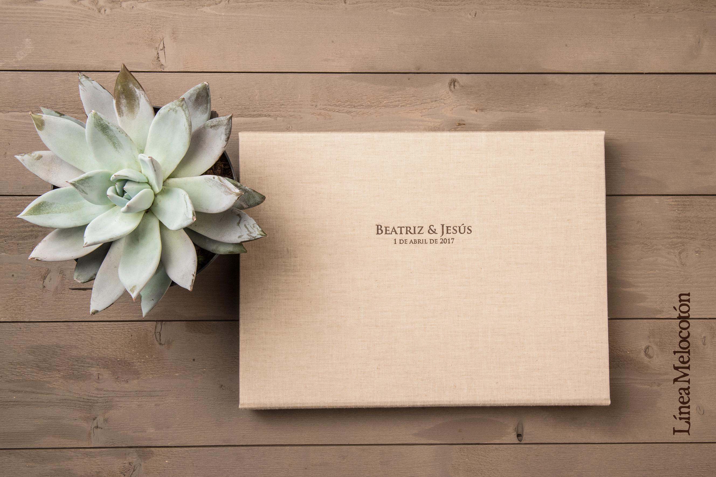 Linea melocotón + caja