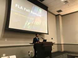 FLA 2018 Fall Banquet