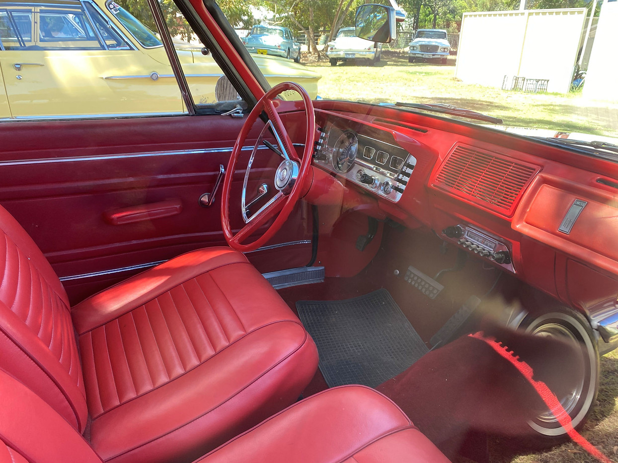 Inside Larry's Car