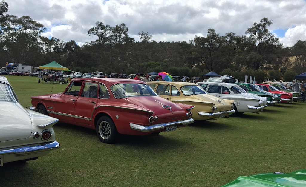 Our cars on display
