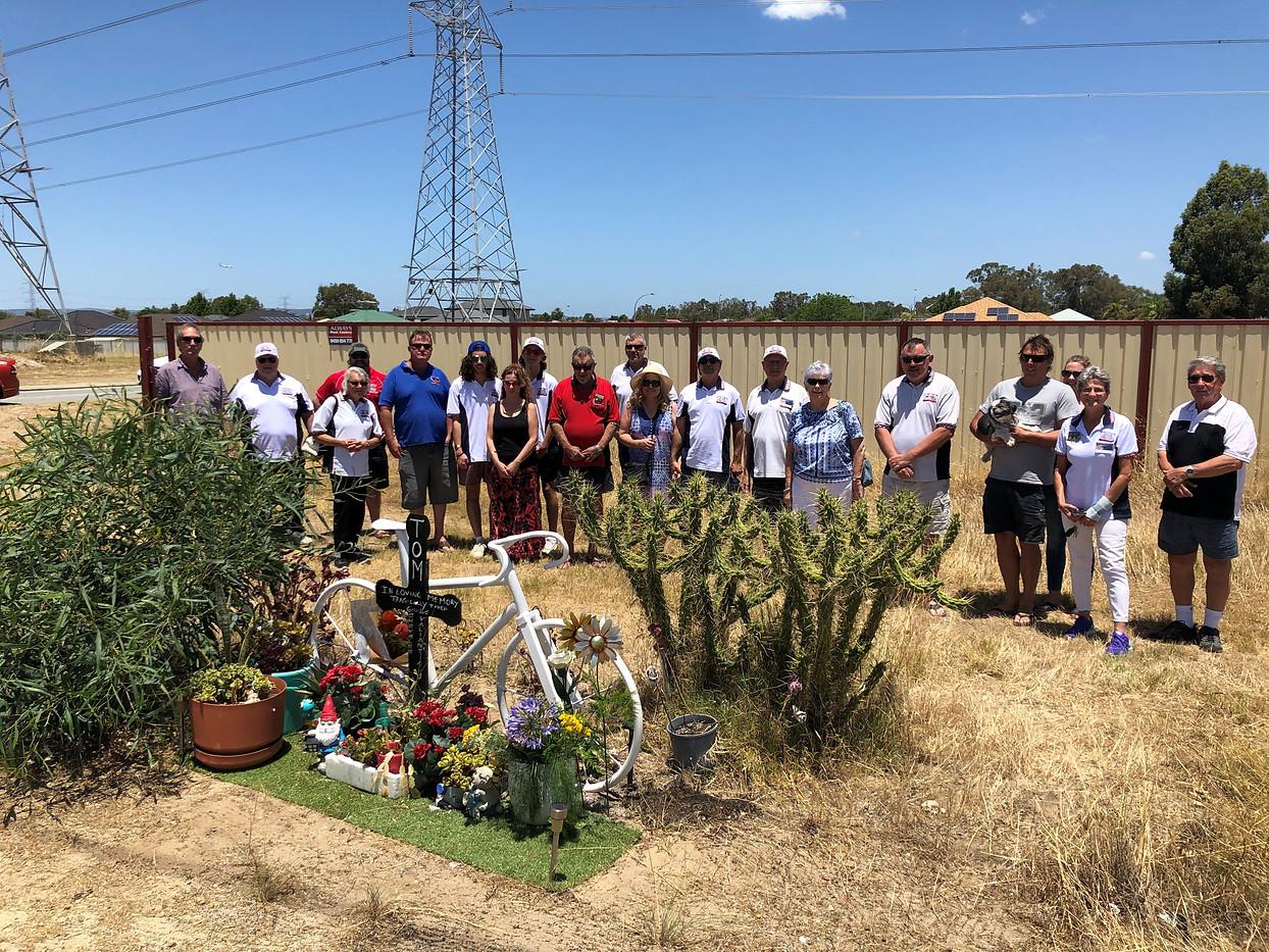 At Tom's Memorial